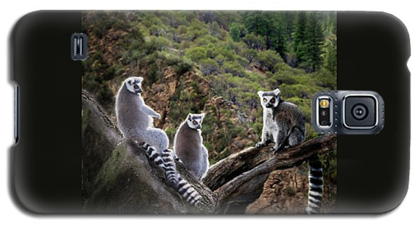 Lemur Family Galaxy S5 Case