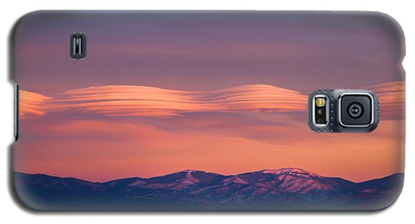 Lenticular Clouds Galaxy S5 Case