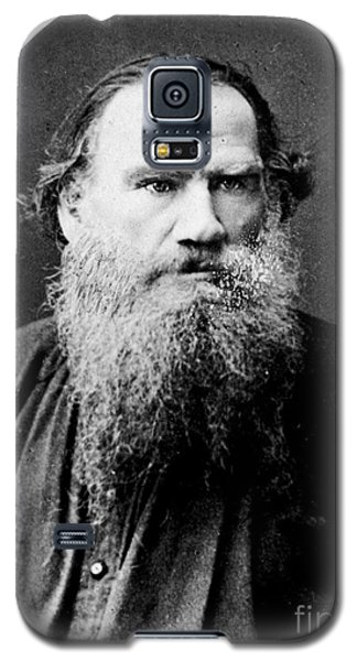 Galaxy S5 Case featuring the photograph Leo Tolstoy by Pg Reproductions