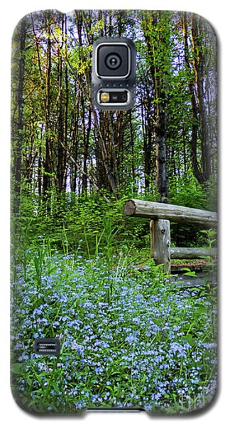 Galaxy S5 Case featuring the photograph Leon Gorman Park Trail, Freeport, Maine  #50600 by John Bald