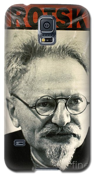 Leon Trotsky Poster Mexico City Galaxy S5 Case by John  Mitchell