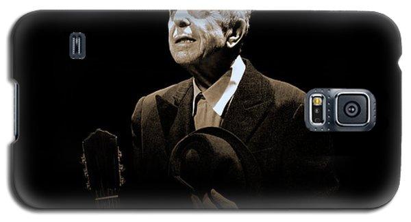 Portrait Of Leonard Cohen Galaxy S5 Case