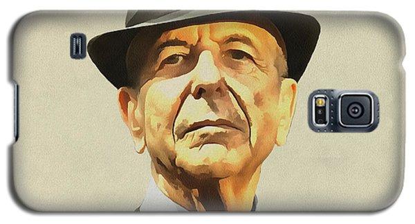 Leonard Cohen Galaxy S5 Case by Sergey Lukashin