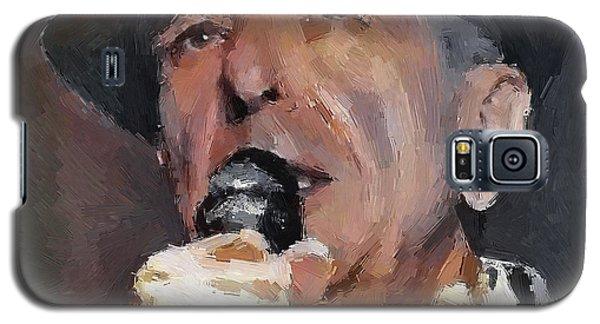 Leonard Cohen Tribute 2 Galaxy S5 Case