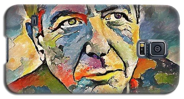 Leonard Cohen Tribute 3 Galaxy S5 Case