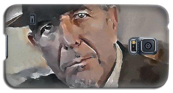 Leonard Cohen Tribute 4 Galaxy S5 Case