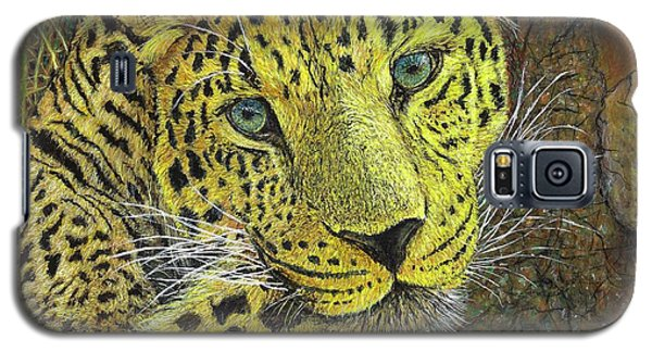Leopard Gaze Galaxy S5 Case