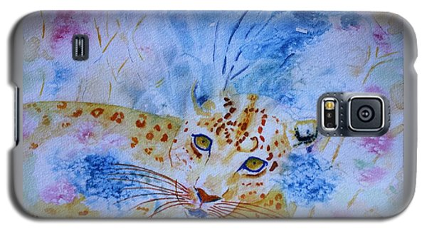 Leopard Hide And Seek Galaxy S5 Case