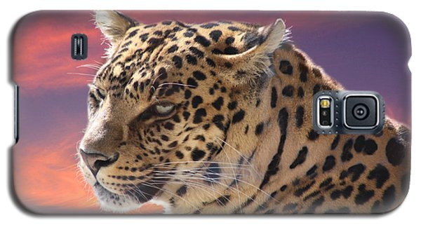 Leopard Portrait Galaxy S5 Case