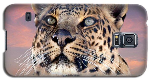 Leopard Portrait Number 3 Galaxy S5 Case
