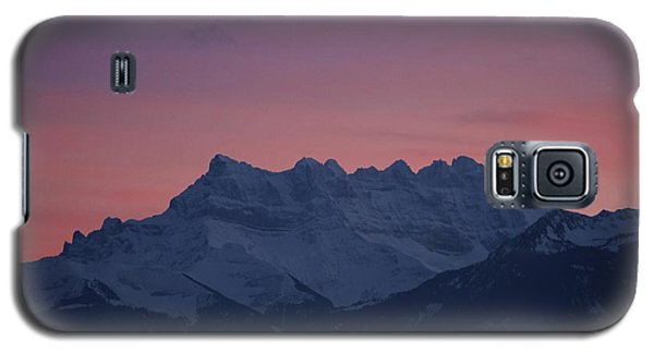 Galaxy S5 Case featuring the photograph Les Dents Du Midi by Colleen Williams