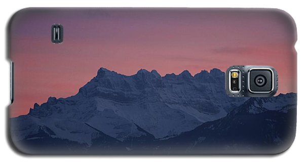 Les Dents Du Midi Galaxy S5 Case by Colleen Williams