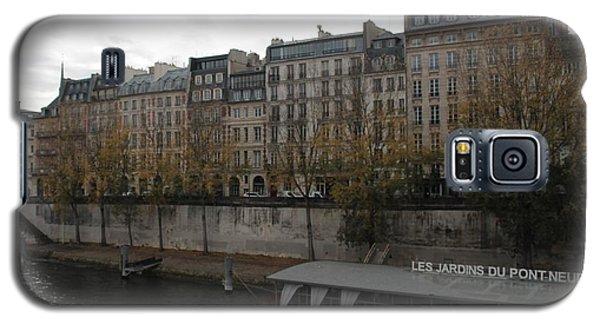 Les Jardins Du Pont Neuf Galaxy S5 Case