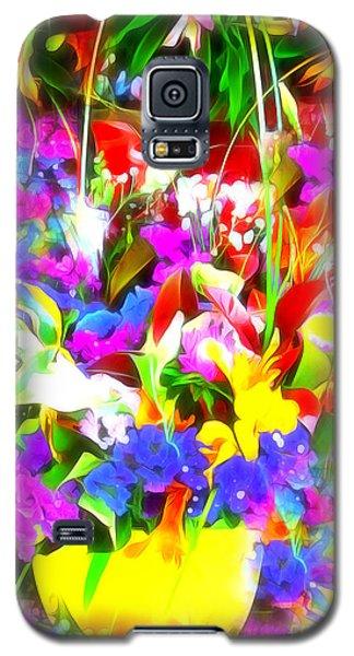 Les Jolies Fleurs Galaxy S5 Case