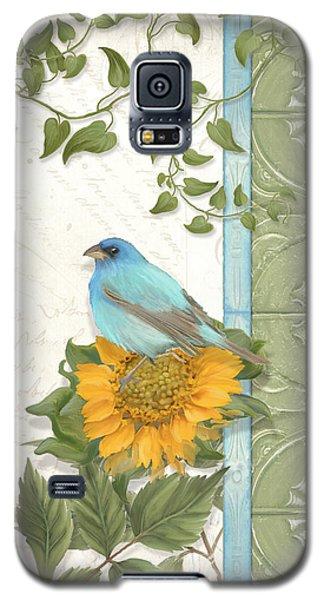 Les Magnifiques Fleurs Iv - Secret Garden Galaxy S5 Case by Audrey Jeanne Roberts
