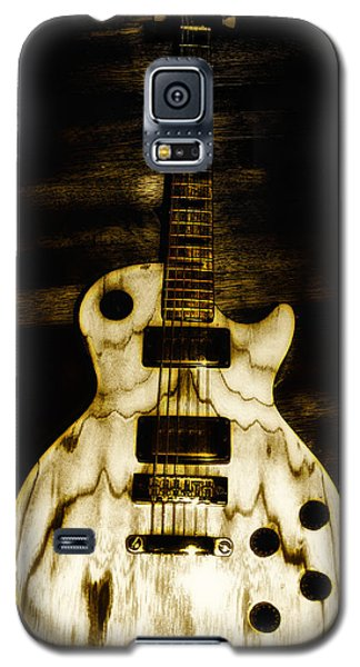 Music Galaxy S5 Case - Les Paul Guitar by Bill Cannon