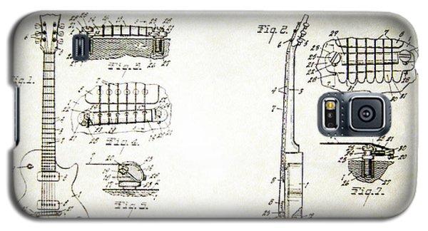 Les Paul Guitar Patent 1955 Galaxy S5 Case