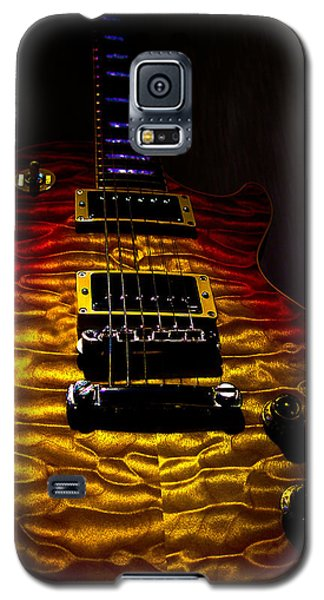 Guitar Custom Quilt Top Spotlight Series Galaxy S5 Case