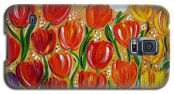 Les Tulipes - The Tulips Galaxy S5 Case by Gioia Albano