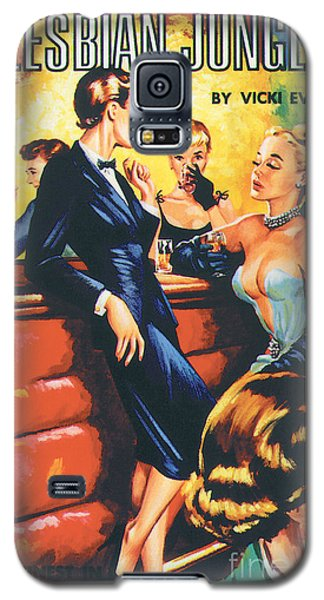 Lesbian Jungle Galaxy S5 Case