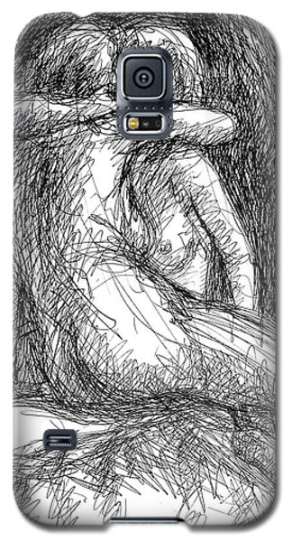 Lesbian Sketches  1 Galaxy S5 Case