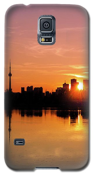 Leslie Street Spit Toronto Canada Sunset Galaxy S5 Case