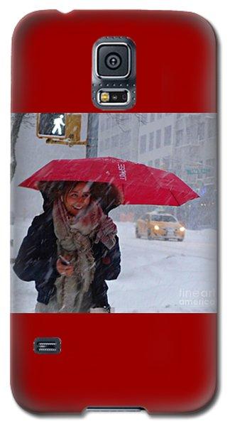 L Esprit De New York - Winter In New York Galaxy S5 Case