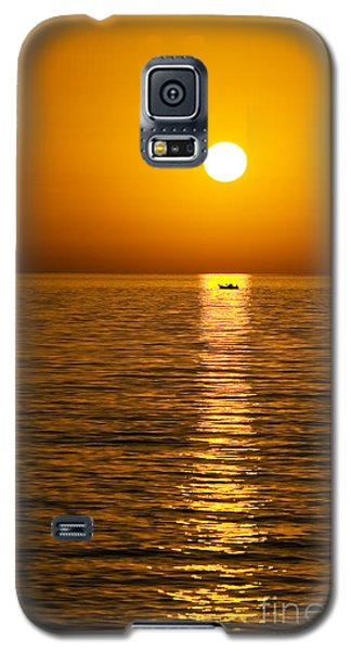Lesvos Sunset Galaxy S5 Case