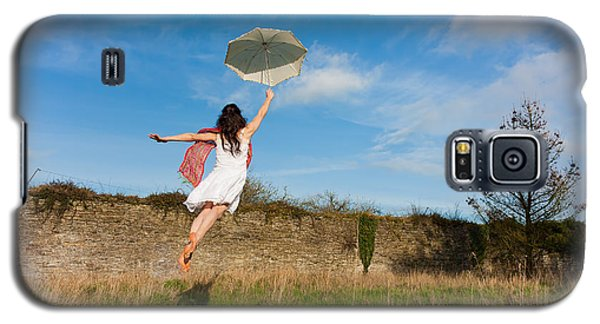 Let The Breeze Guide You Galaxy S5 Case by Semmick Photo