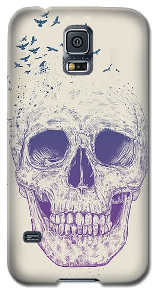 Surrealism Galaxy S5 Case - Let Them Fly by Balazs Solti