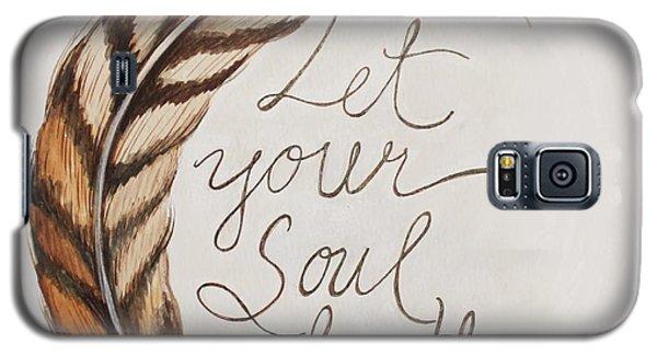 Let Your Soul Breathe Galaxy S5 Case by Elizabeth Robinette Tyndall
