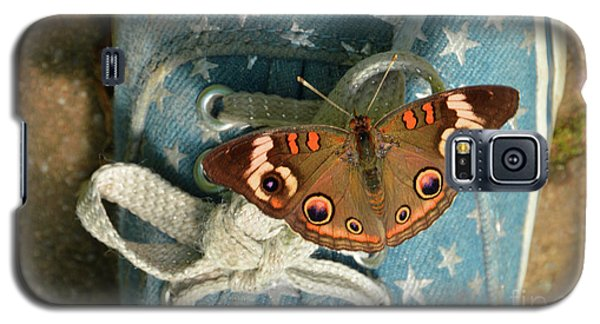 Let Your Spirit Fly Free- Butterfly Nature Art Galaxy S5 Case