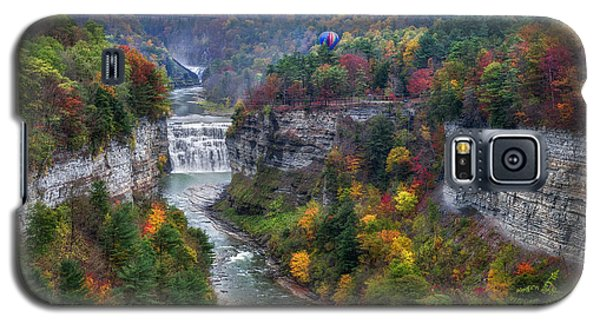 Letchworth Middle Falls Galaxy S5 Case by Mark Papke