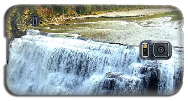 Letchworth State Park Middle Falls Autumn Galaxy S5 Case