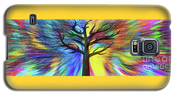 Galaxy S5 Case featuring the photograph Let's Color This World By Kaye Menner by Kaye Menner