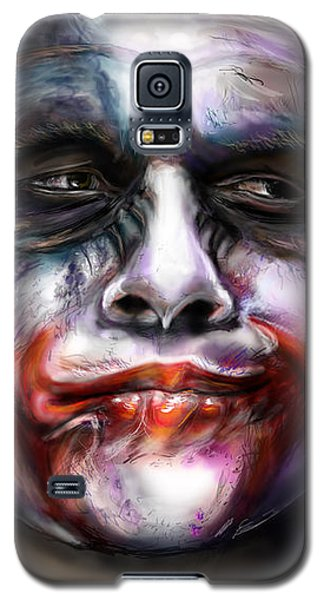 Heath Ledger Galaxy S5 Case - Let's Put A Smile On That Face by Vinny John Usuriello
