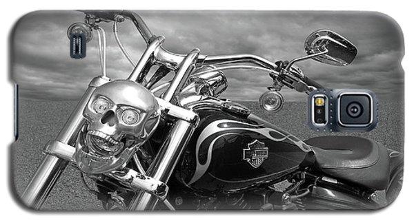 Let's Ride - Harley Davidson Motorcycle Galaxy S5 Case by Gill Billington