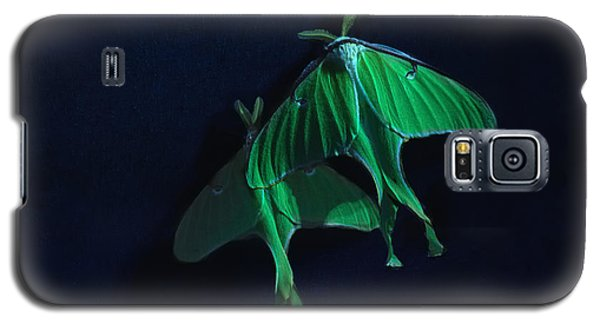 Galaxy S5 Case featuring the photograph Let's Swim To The Moon by Susan Capuano