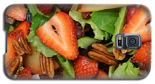 Lettuce Strawberry Plum Salad Galaxy S5 Case