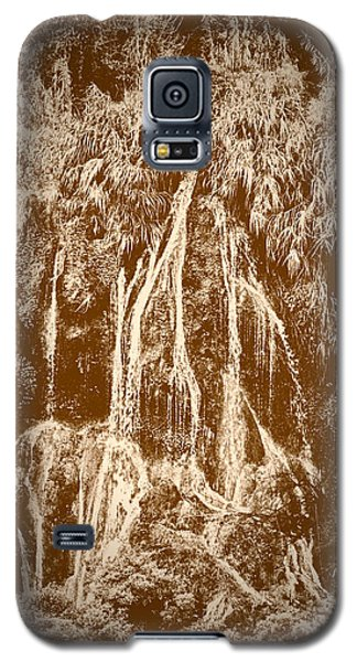 Galaxy S5 Case featuring the photograph Li River Waterfall by Tom Vaughan