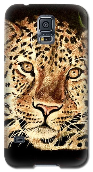 Galaxy S5 Case featuring the painting Liam by Teresa Wing