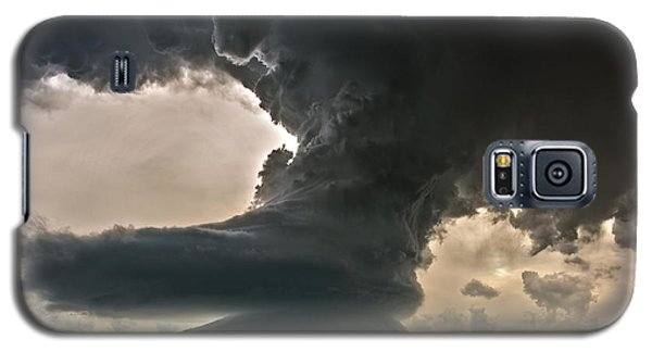 Galaxy S5 Case featuring the photograph Liberty Bell Supercell by James Menzies