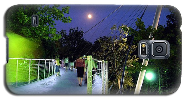 Liberty Bridge At Night Greenville South Carolina Galaxy S5 Case
