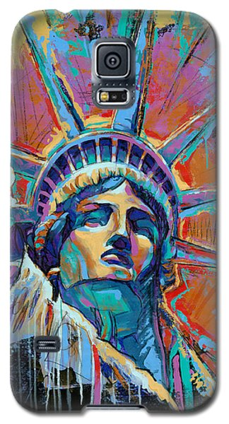 Liberty In Color Galaxy S5 Case by Damon Gray
