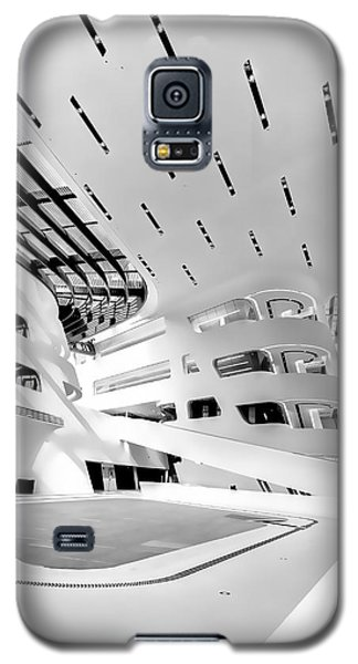 Library Interior 3 Zaha Hadid Wu Campus Vienna  Galaxy S5 Case