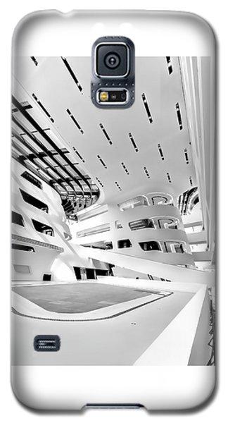Library Interior 3 Zaha Hadid Wu Campus Vienna  Galaxy S5 Case