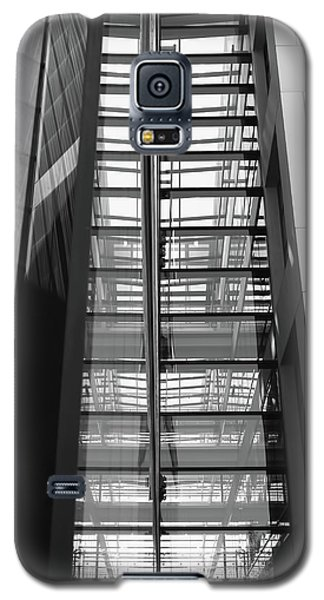 Galaxy S5 Case featuring the photograph Library Skyway by Rona Black