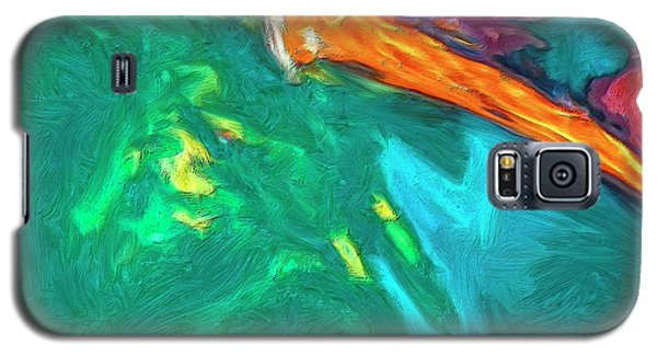 Galaxy S5 Case featuring the painting Lies Beneath by Dominic Piperata