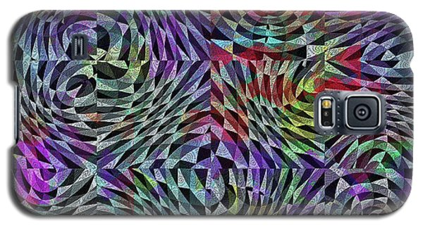 Galaxy S5 Case featuring the digital art Life Currents by Mimulux patricia no No