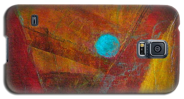 Galaxy S5 Case featuring the painting Life Force by Mary Sullivan